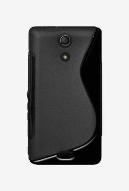 Amzer TPU Hybrid Case For Sony Xperia ZR M36h (Black)