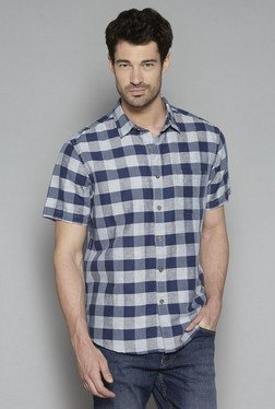 Westsport by Westside Indigo Relaxed Fit Shirt