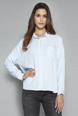 LOV By Westside Light Blue Bruna Shirt