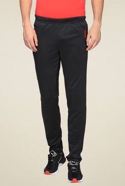 Puma Black Regular Fit Track Pants