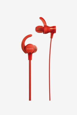 Sony XB510AS EXTRA BASS Sports In-Ear Headphones (Red)