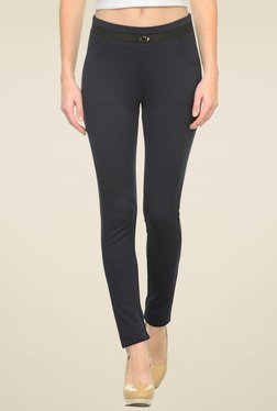 Westwood Black Mid Rise Skinny Fit Jeggings - Mp000000001308282