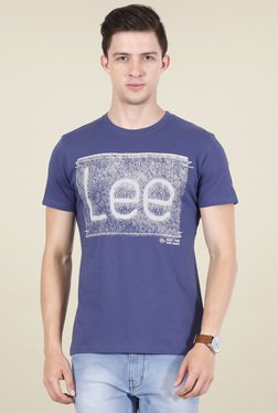 Lee Indigo Round Neck T-shirt