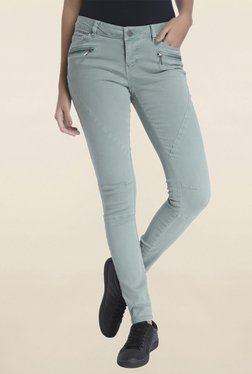 Vero Moda Mint Raw Denim Jeans