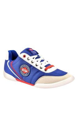Lee Cooper Blue & White Sneakers