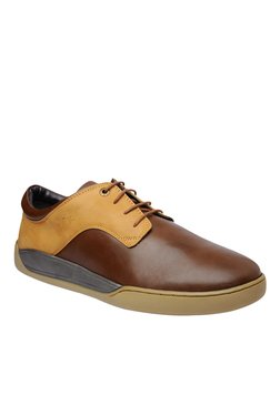 BCK By Buckaroo Oliver Brown & Tan Derby Shoes