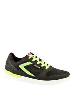 Lee Cooper Black & Green Sneakers