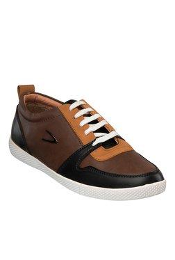 Duke Dark Brown & Black Sneakers