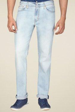 Levi's 511 Light Blue Slim Fit Mid Rise Jeans