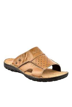 Lee Cooper Tan Casual Sandals