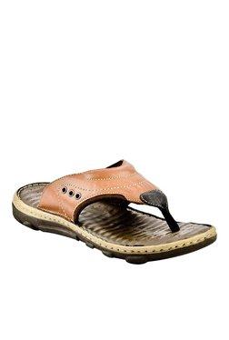 Lee Cooper Tan Thong Sandals