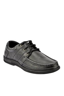 Lee Cooper Black Derby Shoes