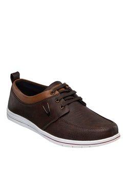 Duke Dark Brown & Tan Derby Shoes