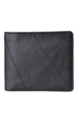 Baggit GW Governer Escape Black Textured Wallet