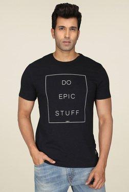 Levi's Black Short Sleeves Cotton T-Shirt