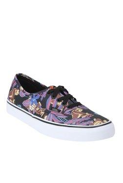 Vans Authentic Black & Purple Sneakers