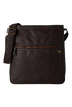 Baggit G Zen Giza Brown Distressed Sling Bag