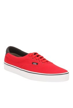 Vans Era 59 Racing Red & Black Sneakers