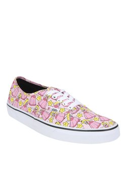 Vans Authentic Pink & Yellow Sneakers