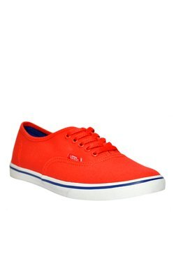 Vans Authentic Lo Pro Red Sneakers