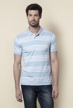 Zudio Sky Blue Polo T Shirt