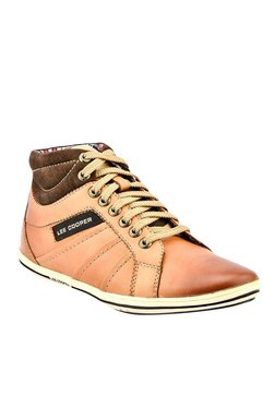 Lee Cooper Tan & Brown Casual Boots