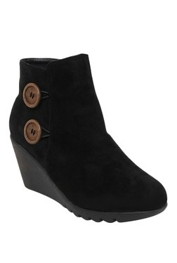 Bruno Manetti Black Casual Booties - Mp000000001333655