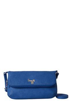 Baggit LMP Embree Angie Cobalt Blue Solid Sling Bag
