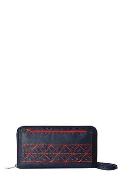 Baggit LW Madison Dora Navy Stitch Detail Sling Bag