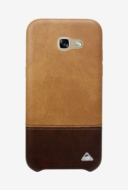 Stuffcool Vogue Dual Tone Case For Galaxy A7 2017 (Brown)