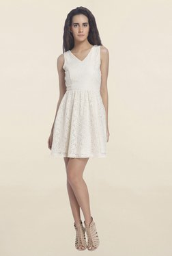 Vero Moda White Lace Dress