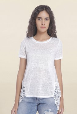 Vero Moda Snow White Textured Top