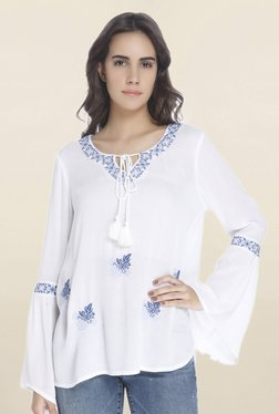 Vero Moda Snow White Embroidered Top