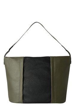 Baggit L Sans Kasey Olive Green Shoulder Bag