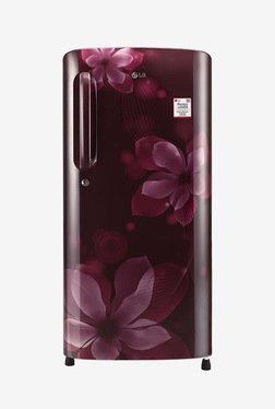 LG GL-B201ASOX 190 Ltr 4 Star Refrigerator (Scarlet Orchid)