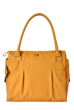 Baggit L Rollercoaster Krispa Mango Solid Shoulder Bag