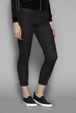 Nuon by Westside Black Cropped Jeans