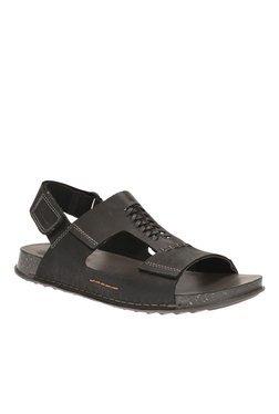 cbef1aabd Clarks Lynton Bay Black Sandals Best Deals With Price Comparison ...