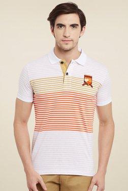 Duke Orange Half Sleeves Polo T-Shirt