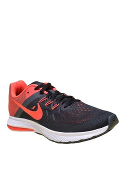 Nike Zoom Winflo 2 Black & Red Running Shoes