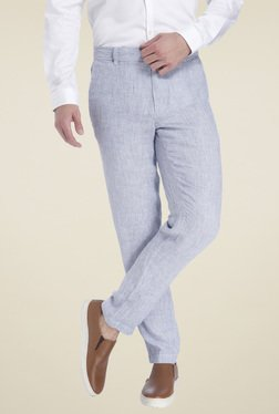 Jack & Jones Light Blue Slim Fit Trousers
