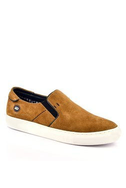 ID Brown & White Plimsolls