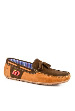 ID Tan & Cafe Brown Boat Shoes
