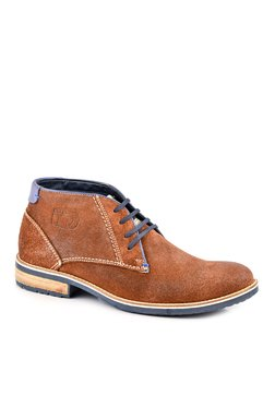 ID Brown Derby Boots