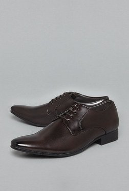 Azzurro by Westside Brown Derby Shoes