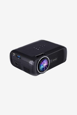 Everycom X7 1800 Lumens LED Portable Projector (Black)