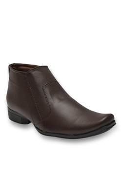 Enzo Cardini Jodhpuri Dark Brown Formal Boots