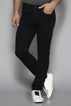 Nuon by Westside Black Slim Fit Jeans