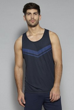 Westsport by Westside Navy Slim Fit Tank
