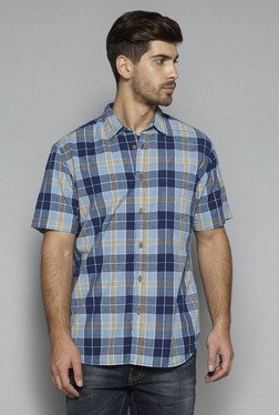 Westsport by Westside Blue Relaxed Fit Shirt